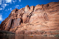Pack Rafting Glen Canyon, Arizona Royalty Free Stock Image