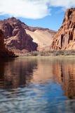 Pack Rafting Glen Canyon, Arizona Royalty Free Stock Photo