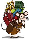 Pack Rat Royalty Free Stock Photography