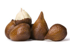 A pack of salak with one is ha stock images