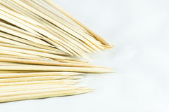 A pack of sharpen bamboo sticks Stock Image