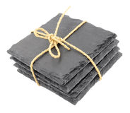 Pack Of Slate Drink Coasters Stock Photography