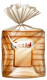 A pack of sliced bread Royalty Free Stock Photos