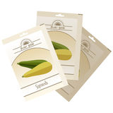 Pack of Squash seeds icon Royalty Free Stock Photos