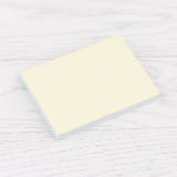 Pack of stickers note on wooden background. Pack of sticky stickers note on wooden white background Royalty Free Stock Photos