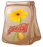 A pack of sunflower seeds Stock Image