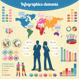 Infographics elements Royalty Free Stock Images