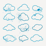 Pack of vector icons. Royalty Free Stock Images