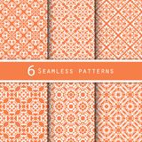 A pack of vintage pattern designs Stock Photography