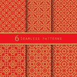 A pack of vintage pattern designs Stock Photo