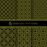 A pack of vintage pattern designs Royalty Free Stock Photography