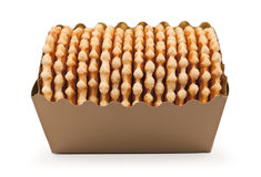 Pack Of Waffles stock photo
