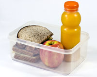 packad lunch Arkivbild