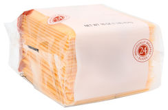 Package American Cheese stock photo