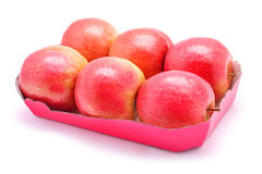 Package of apples Stock Photos