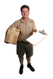 Package Arrived Stock Photo