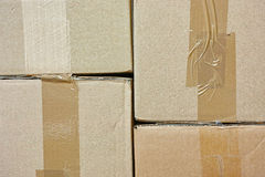 Package background Stock Photography