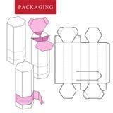 Package for bakery. Vector Illustration of Box. stock illustration