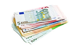 Package of banknotes Royalty Free Stock Photo