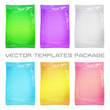 Package blank template Royalty Free Stock Images