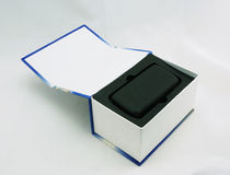 Package box for mobile phone Stock Photo