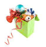 Package with christmas gift Royalty Free Stock Image