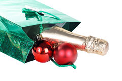 Package for Christmas isolated Royalty Free Stock Image