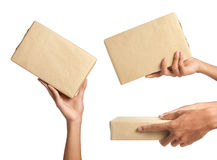 Package delivery Royalty Free Stock Images