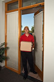 Package Delivery Royalty Free Stock Image