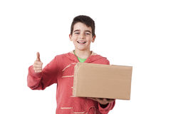 Package delivery Royalty Free Stock Photo
