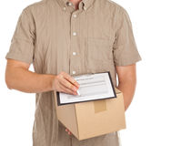 Package delivery Stock Photography