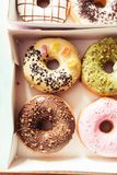 A package of donuts Stock Photos