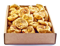 Package of Dried Figs stock photo