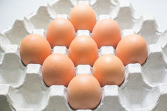 Package of eggs Royalty Free Stock Photography