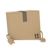 Package figur Stock Images