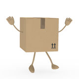 Package figur Royalty Free Stock Images