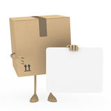 Package figur Stock Photography