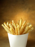 French fries - Blank package Stock Photography