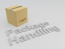 Package Handling concept Royalty Free Stock Photos