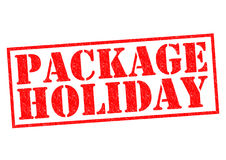 PACKAGE HOLIDAY Stock Photos