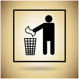 Package Icon Protection Fragile Sign Royalty Free Stock Image