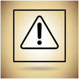 Package Icon Protection Fragile Sign Stock Image