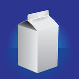Package for milk or juice Stock Photos
