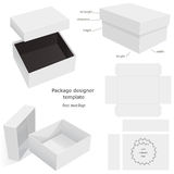 Package Mockup Box Stock Photography