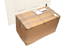 Package/Parcel at Door Stock Photography