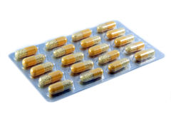 Package of pills Stock Photography