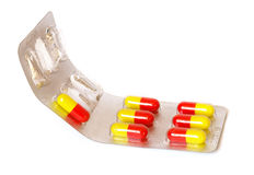Package of pills Stock Image
