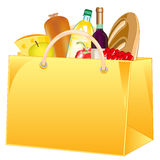 Package with product Royalty Free Stock Images