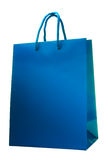 Package for shopping isolated Stock Photography