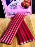 Package of Sweetarts Cherry Ropes Candy Stock Photo